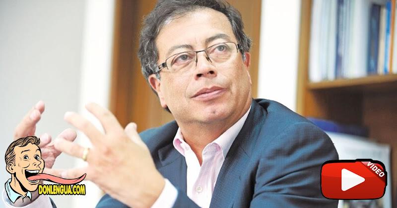 Gustavo Petro asegura que no conoce a Alex Saab y Maduro no es su amigo