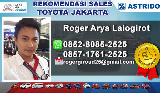 Rekomendasi Sales Toyota Jakarta Selatan