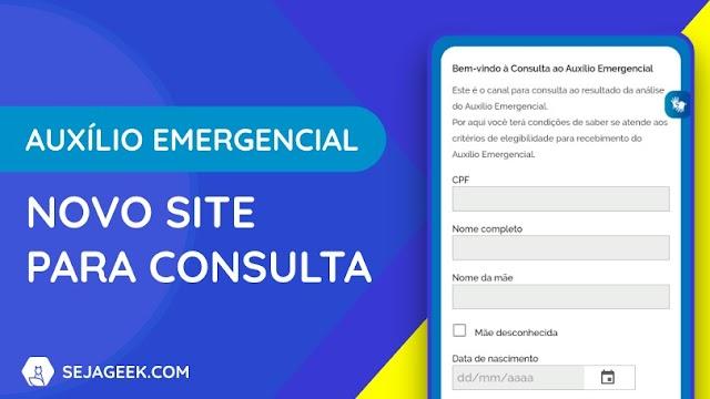 Veja se sua contestação no novo Site do  Auxílio Emergencial já saiu ou está perto de sair.