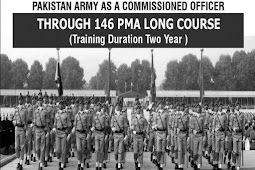 Join PakArmy As Commission Officer Through 146 PMA Long Course Apply Online