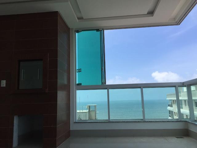 Apartamento em Itapema para locação e venda com vista para o mar