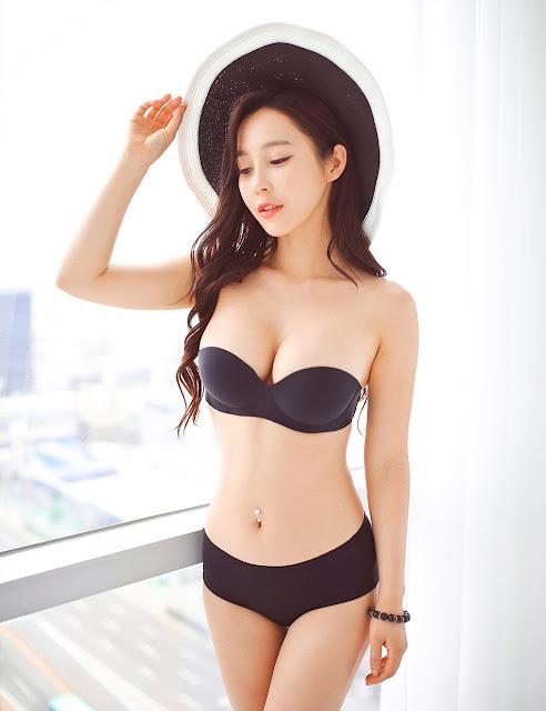 5 Lee Ji Na - lingerie collection - very cute asian girl-girlcute4u.blogspot.com