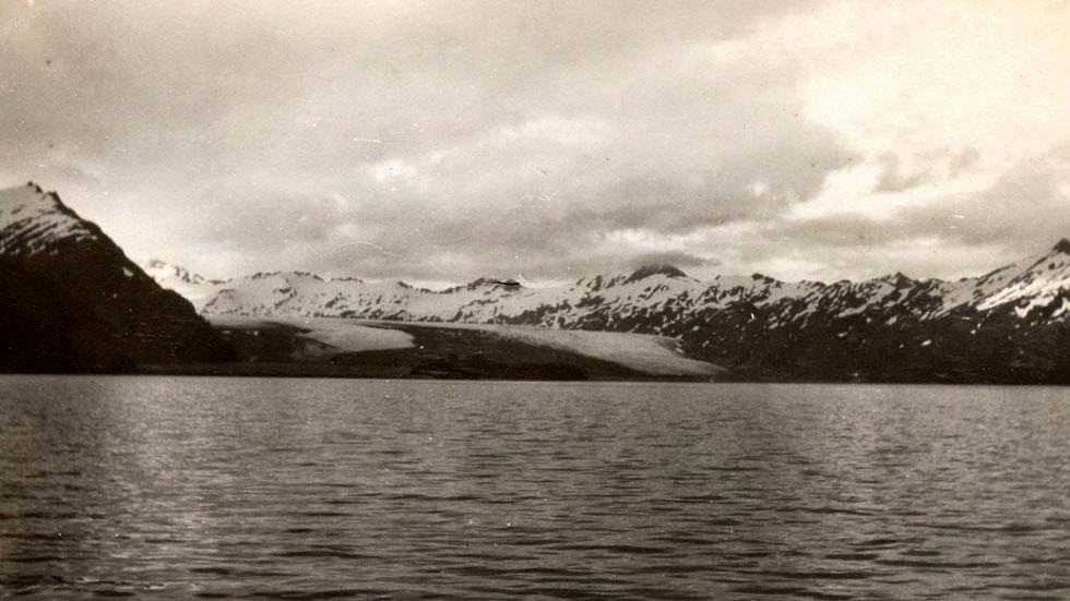 Yalik Glacier (1909) - Photos of Alaska Then And Now. This is A Get Ready to Be Shocked When You See What it Looks Like Now.