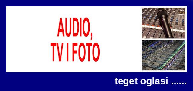5 - PRODAJA AUDIO, TV, FOTO TEHNIKE TEGET OGLASI