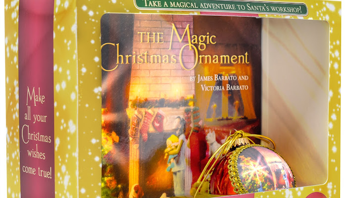 Holiday Giveaway: The Magic Christmas Ornament Collection by James Barbato and Victoria Barbato
