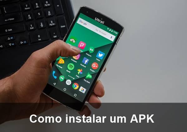 Como instalar um APK