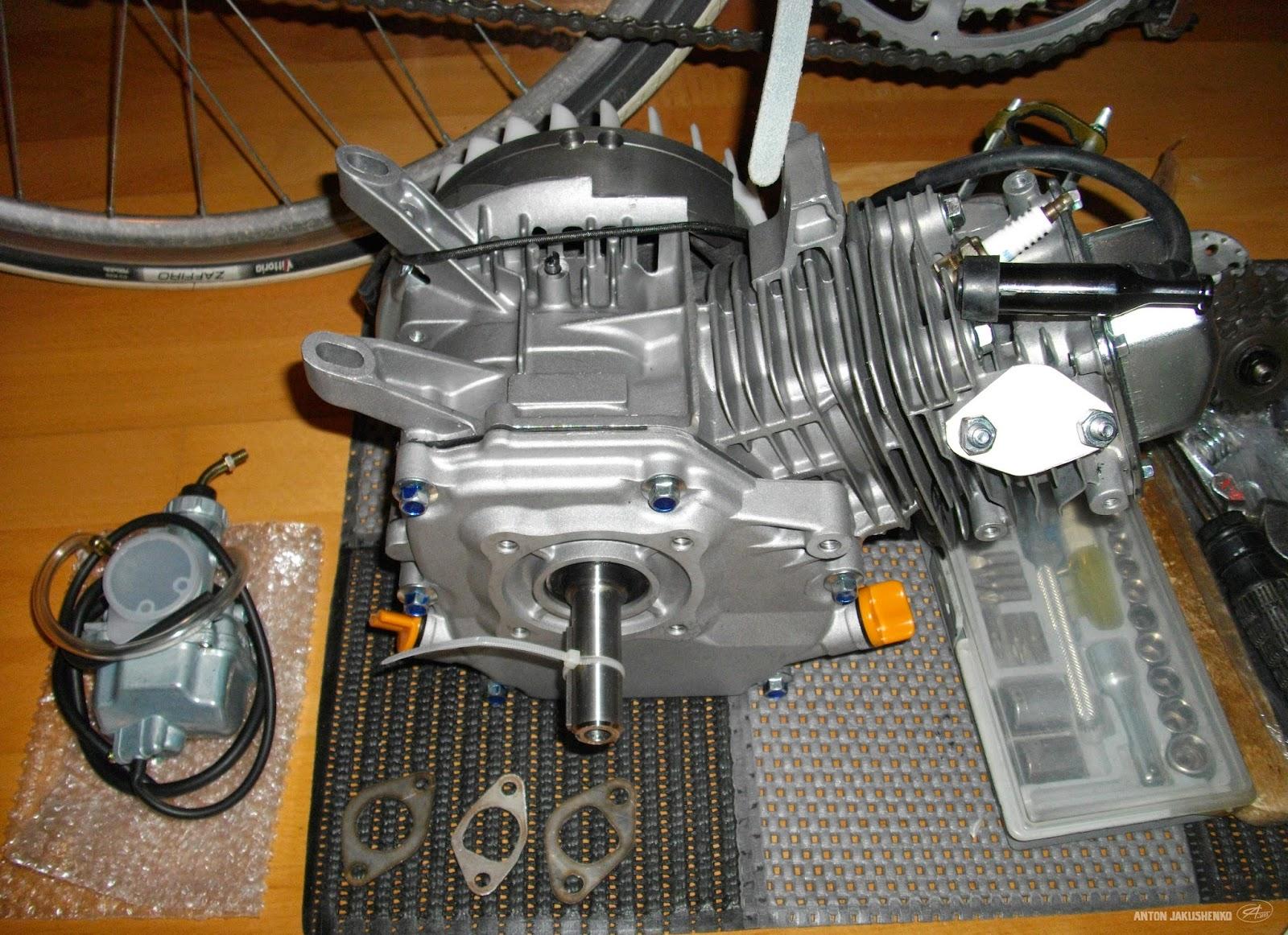 Petrograd cycles : Board track racer rebuild  200cc  Honda