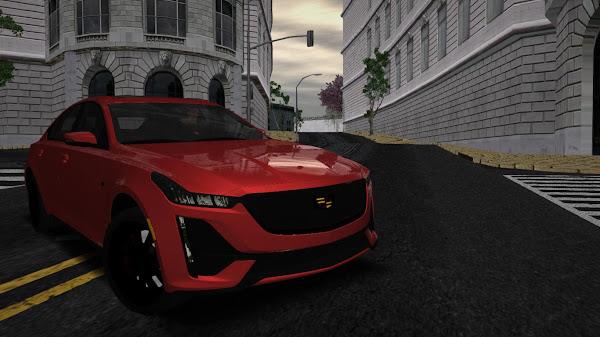 Exclusive Cadillac CT5-V Sport HQLM 2020 GTA SA Android & PC