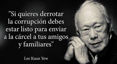 Desde La República Dominicana Frases Célebres Lee Kuan Yew