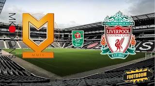 Милтон-Кинс Донс – Ливерпуль смотреть онлайн бесплатно 25 сентября 2019 прямая трансляция в 21:45 МСК.