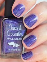 Chaos & Crocodiles Hella Holo Customs Cosmic Crystal