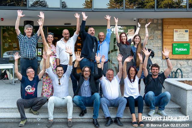 Završna konferencija projekta »Učka 360˚« u Centru za posjetitelje Poklon