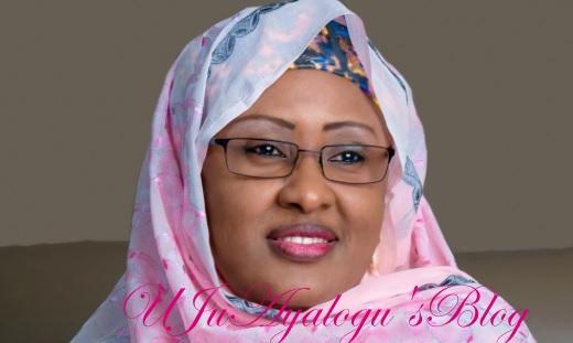 Aisha, again, jets to London to see President Buhari