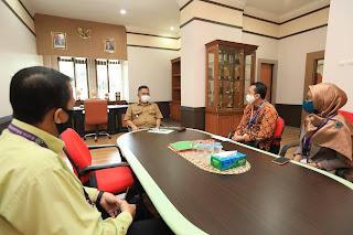 Wali Kota Menerima Kunjungan Silaturahmi Pimpinan Bank Muamalat Cabang Pembantu Tarakan - Tarakan Info