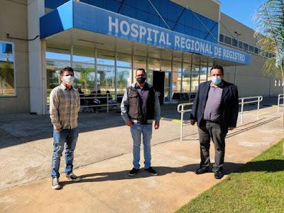 Comissão faz visitas a hospitais para verificar condições para enfrentamento da Covid-19