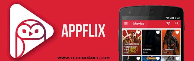 تطبيق Appflix لمشاهدة الأفلام الأجنبية الحديثة على هاتفك الأندرويد