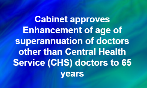 govt-enhanced-age-of-superannuation-of-doctors-paramnews-chs