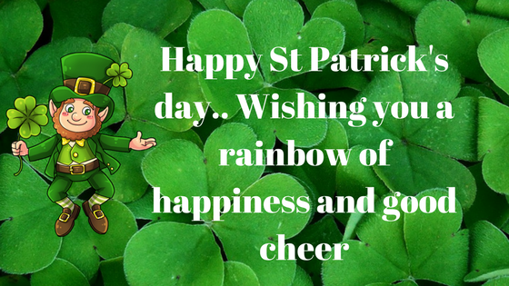 Happy St. Patrick's Day 2018 Good Luck HD Images