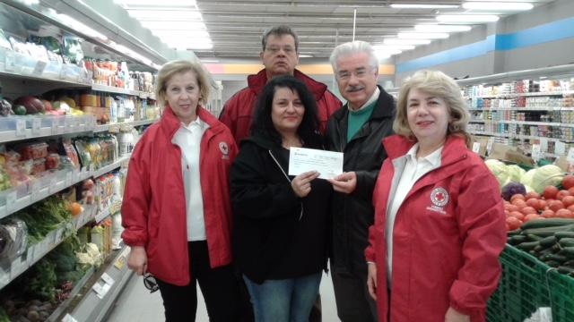 Δωροεπιταγές των super markets «Σκλαβενίτης» στο Περιφερειακό Τμήμα Ναυπλίου του Ελληνικού Ερυθρού Σταυρού