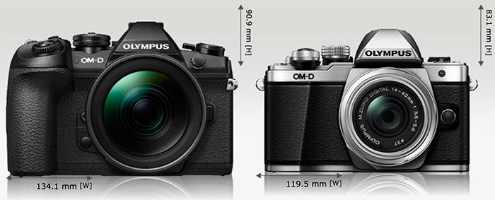 Фотокамеры Olympus