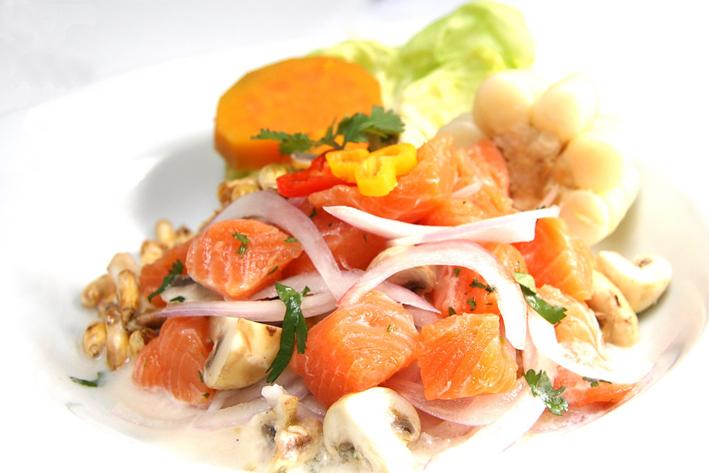 Receta Ceviche de Trucha
