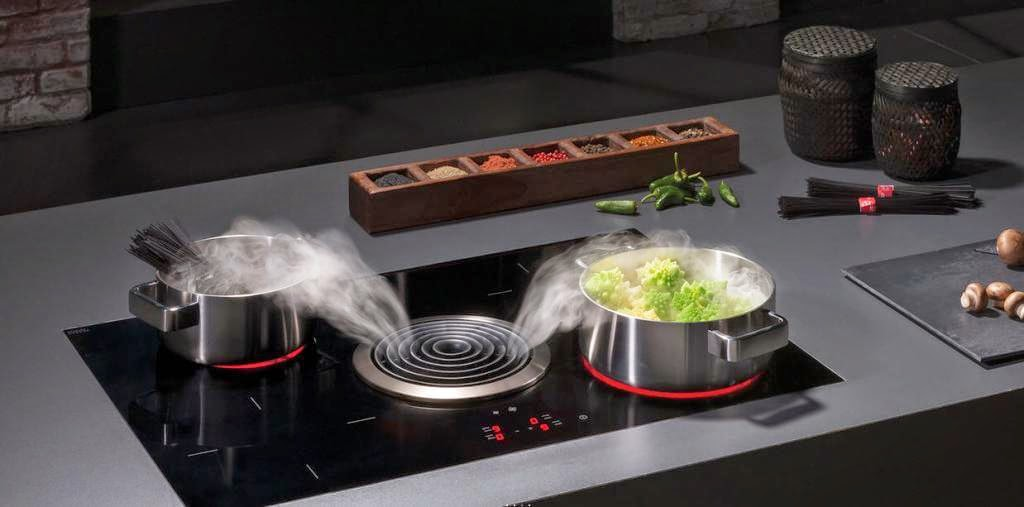 Extractor integrado en la cocina una alternativa a la for Superficie cocina