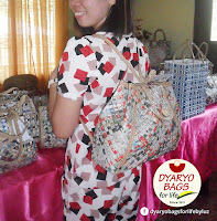 Eco-friendly totes and hand bags for sale at Dyaryo Bags for Life by Luz