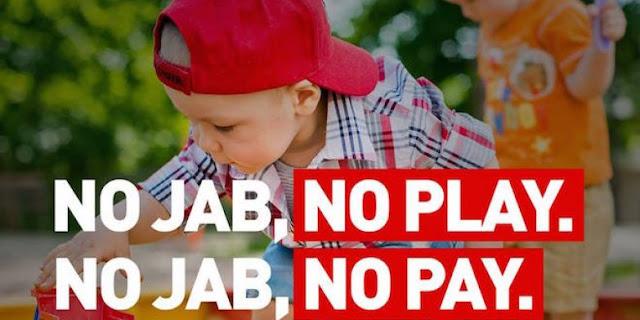 Χωρίς εμβόλιο , δεν θα πληρώνεσαι (no jab, no pay)