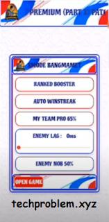 APK XMODE Bangmamet Premium ML Patch Terbaru