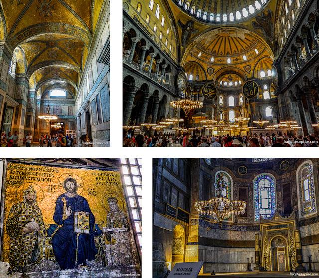Basílica de Santa Sofia, em Istambul