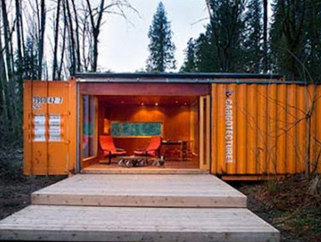 Shipping Container Cabins, Homes and Buildings by HyBrid Architecture 34