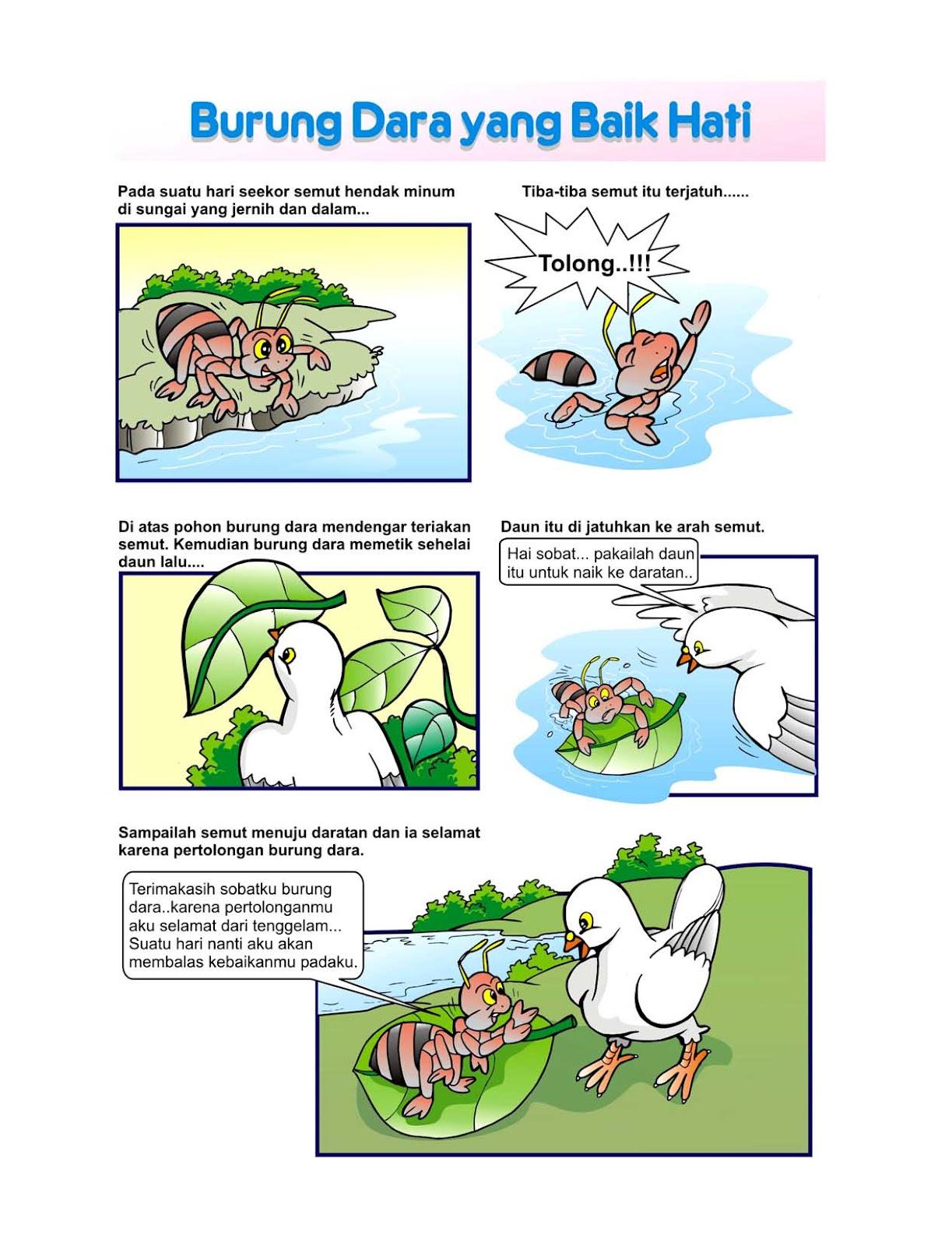 ILUSTRATOR BUKU ANAK-ANAK : Contoh Illustrasi Cerita bergambar