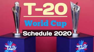 ICC T-20 World Cup 2020 Schedule