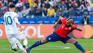 مواجهة قوية تجمع منتخب الأرجنتين ضد تشيلي في كوبا أمريكا 2021
