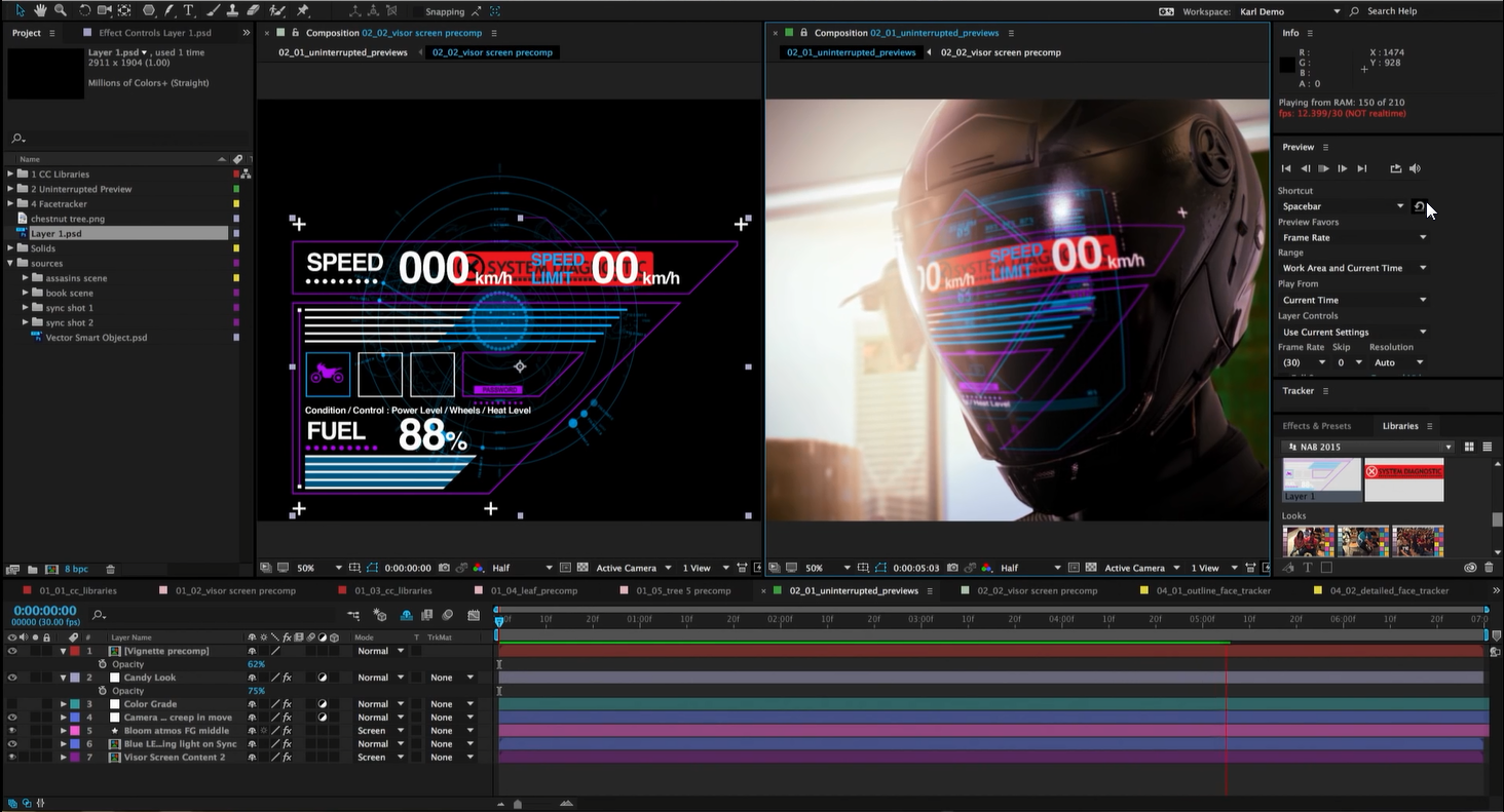 adobe after effect with crack