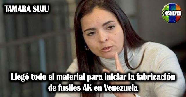 Llegó todo el material para iniciar la fabricación de fusiles AK en Venezuela