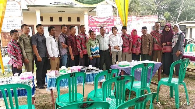 Penyampaian Visi Misi Calon Kades Harapan Jaya