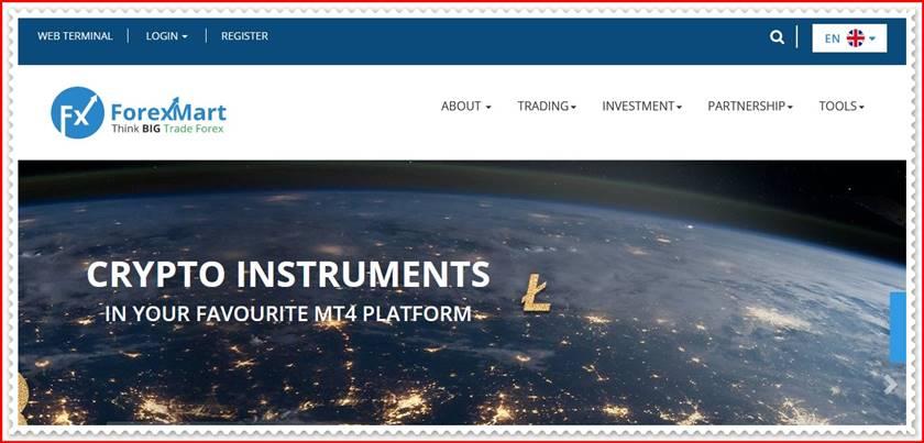 Мошеннический сайт forexmart.com – Отзывы? Компания Tradomart SV мошенники! Информация