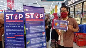Sosialisasi Pembatasan Penggunaan Kantong Plastik