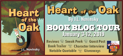 Heart of the Oak: Review and Giveaway