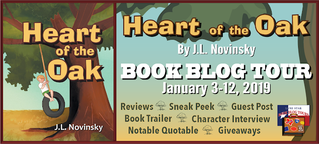 Heart of the Oak book blog tour promotion banner