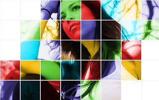 Color Grid Photo Effect