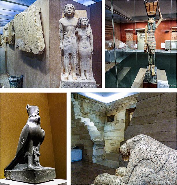 Peças da Coleção Egípcia do Metropolitan Museum de Nova York