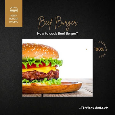 Resep Burger Enak