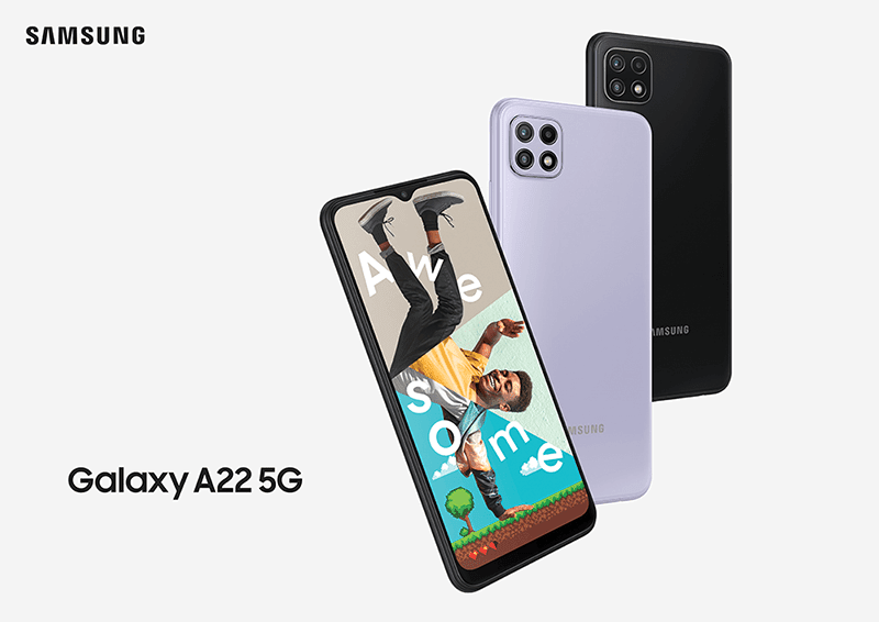 Samsung releases two Galaxy A22 models, one of them has 5G