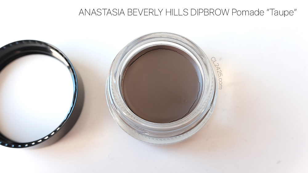 Anastasia Beverly Hills Dipbrow Pomade in Taupe Review