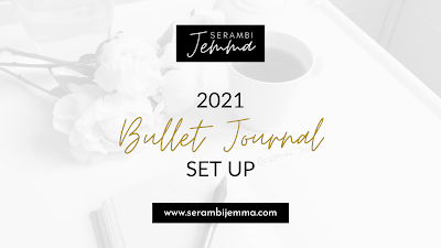 2021 Bullet Journal Set Up