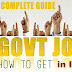 How to Get Government Job???