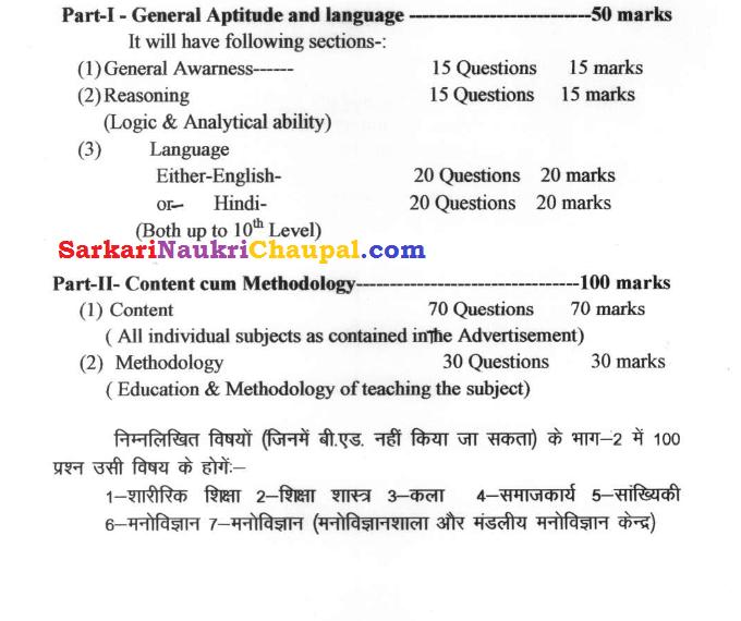 Uppsc Syllabus 2015 In Hindi Pdf