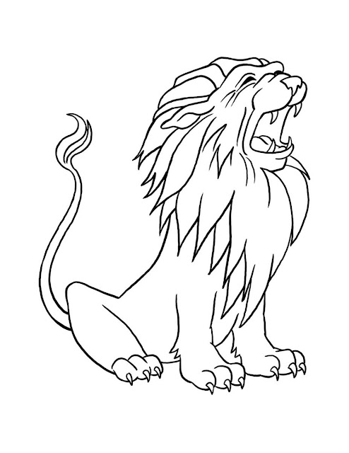 Dibujos De Leones 101 Dibujos Para Colorear Los Leones Más
